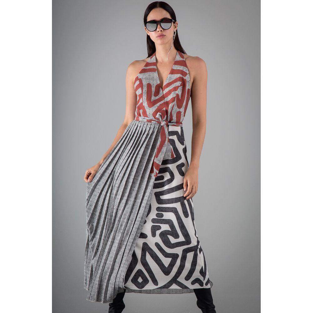 Vestido-Midi-Plissado-Estampa-Etnico