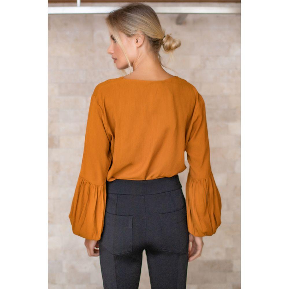 Camisa-Mangas-Longas-Decote-Casual---Amarelo-Aurum-