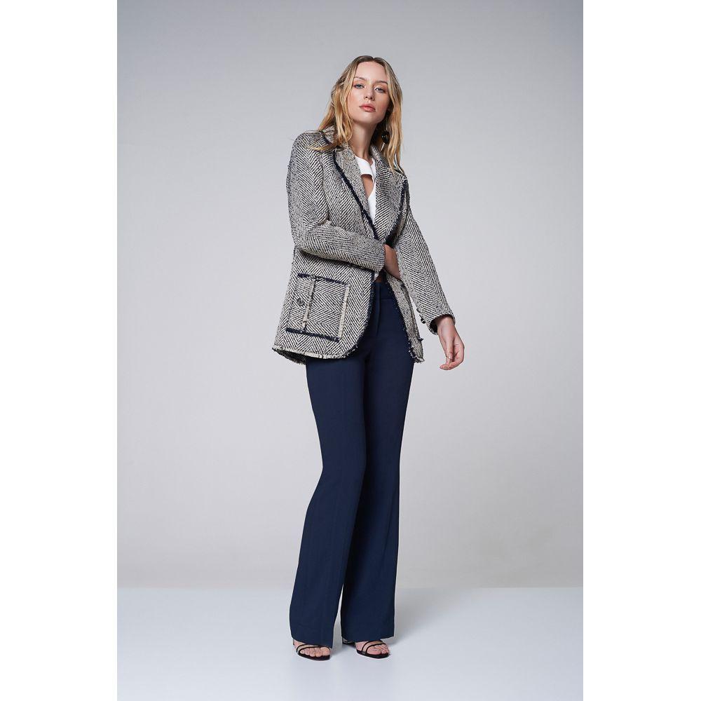Casaco Alfaiataria Tweed