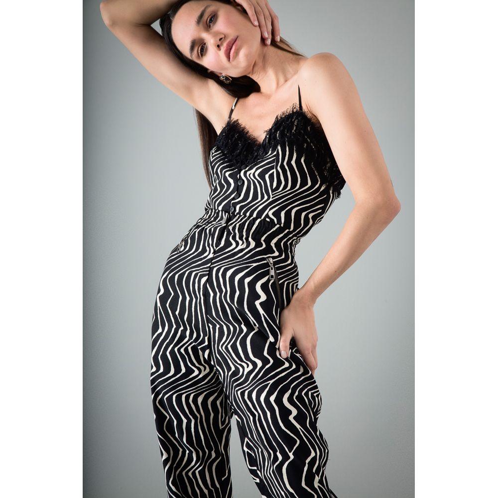 Blusa Print Zebra - Preto