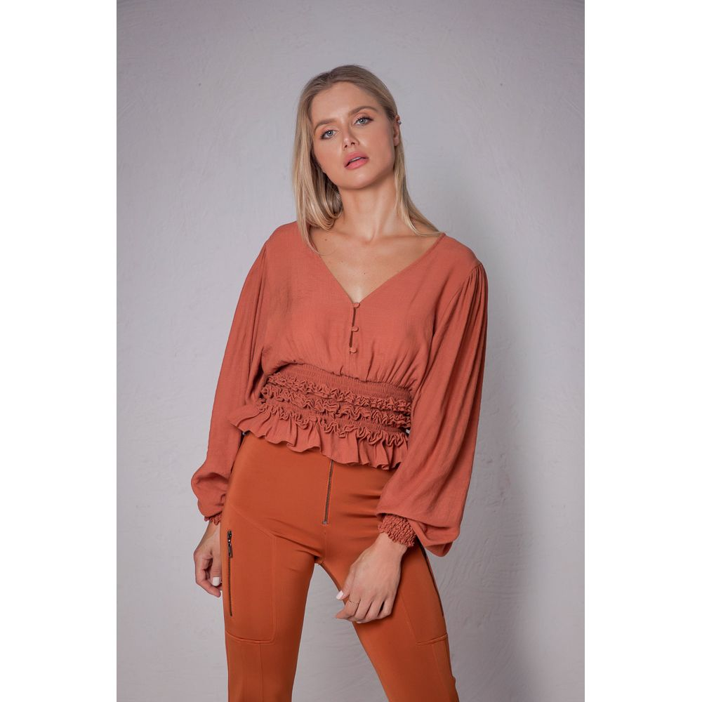 Blusa Special Style - Terracota