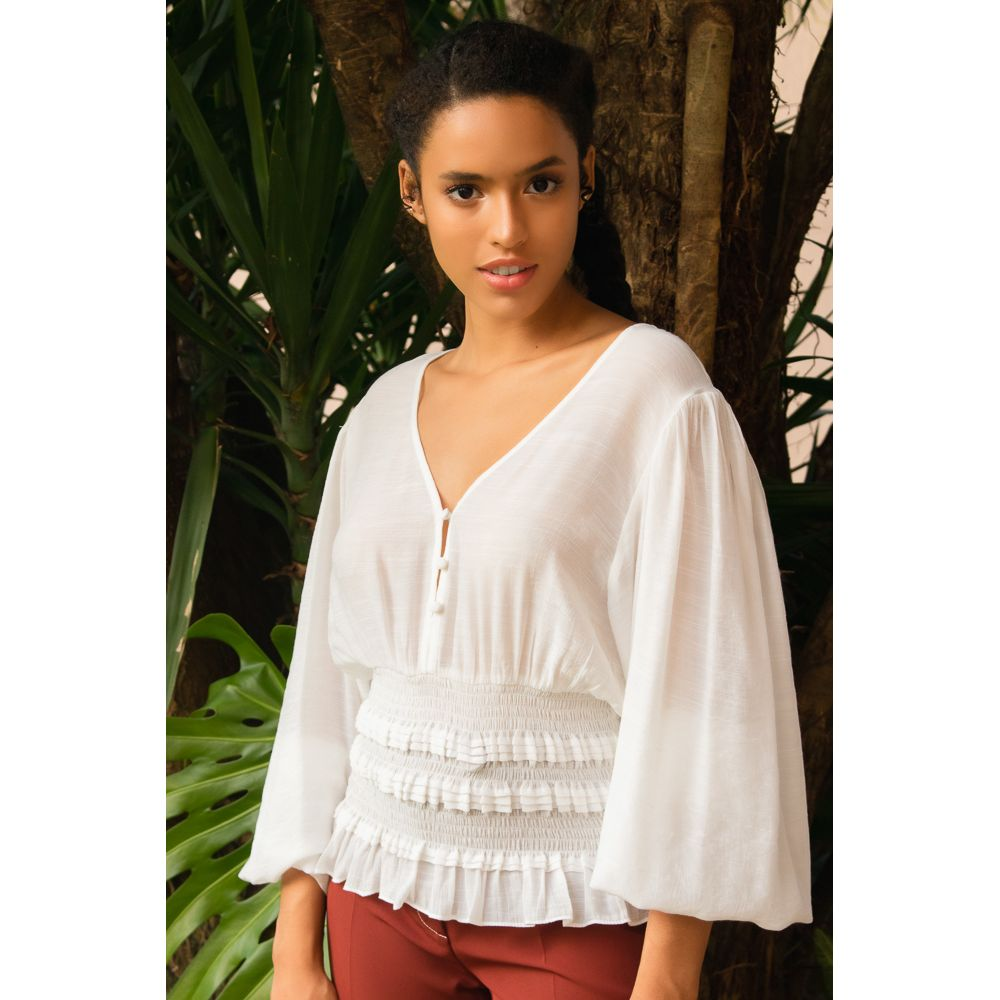 Blusa Special Style - Off White