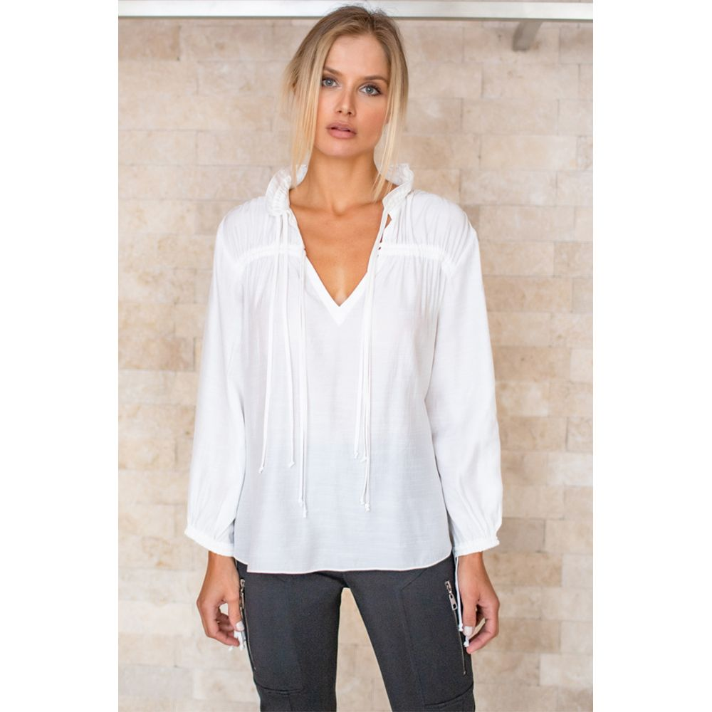 Blusa Casual Chic - Off White