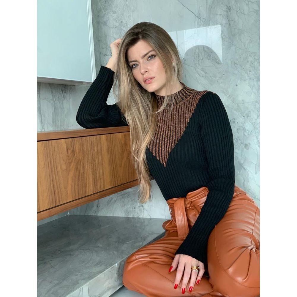Blusa-Tricot-Bicolor-Lurex-Preto-e-Cobre