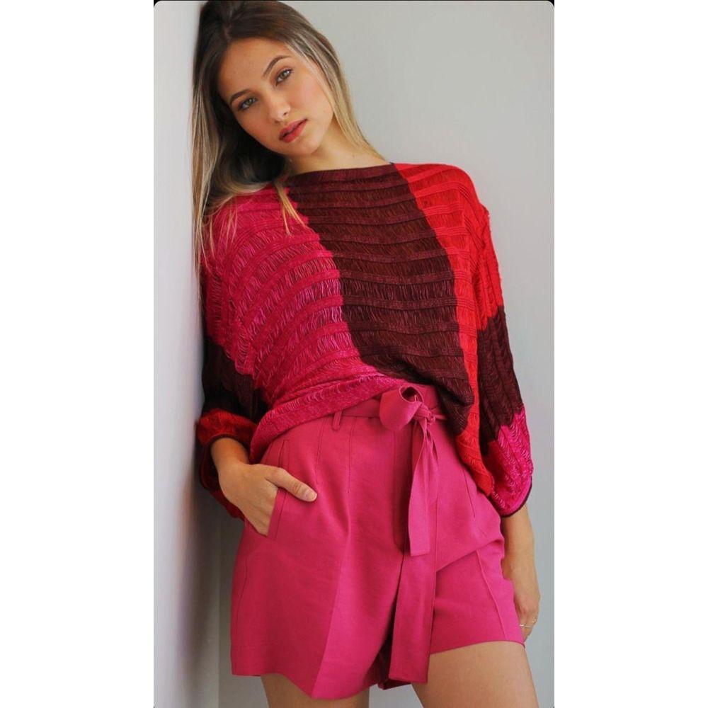 Short Viscose New Classic - Pink