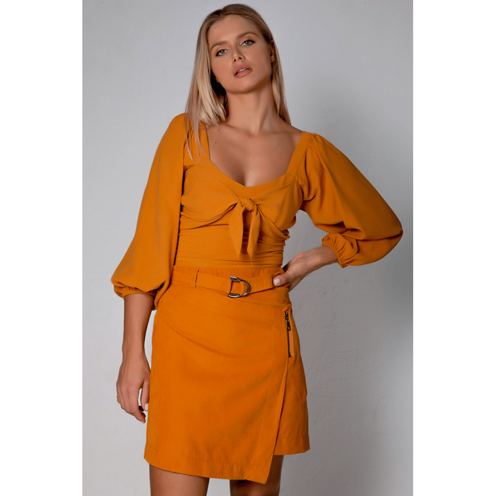 Saia-Urban-Chic-Amarelo-Aurum