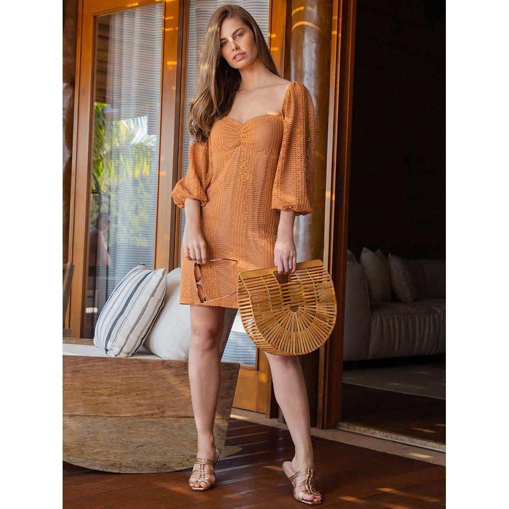 Vestido-Color-Textura---Ferrugem