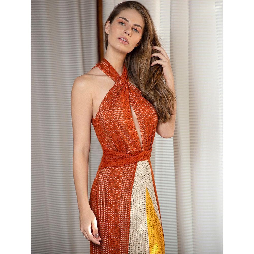 Vestido-Color-Block-Recortes---Mostarda