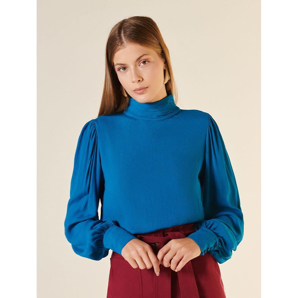 Blusa-Fluida-Decote-Costas-Azul