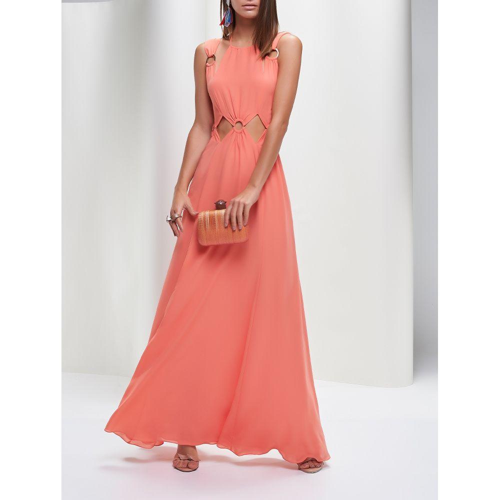 Vestido-Longo-Argolas-Coral