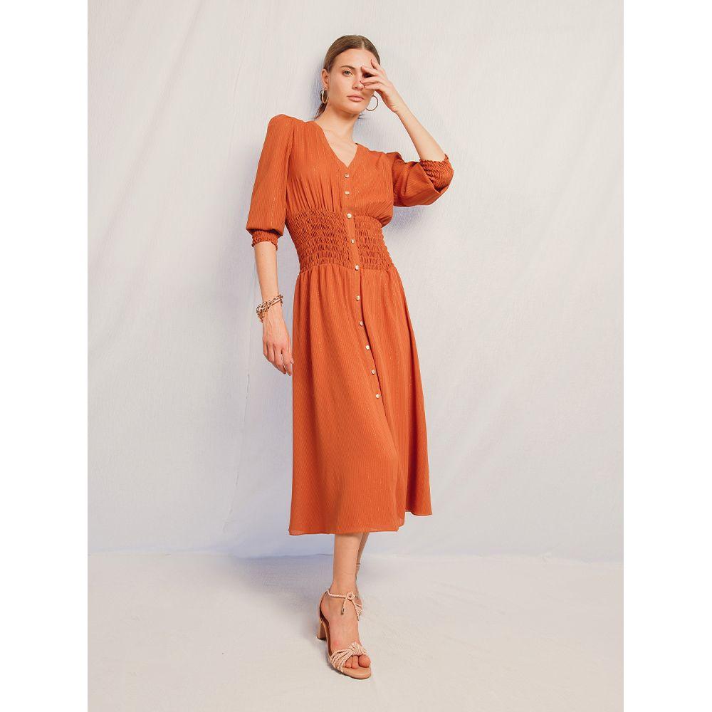 Vestido-Lastex-Shimmy---Terracota