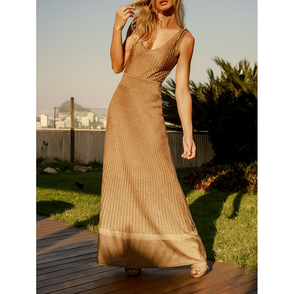Vestido-Longo-Deluxe---Dourado