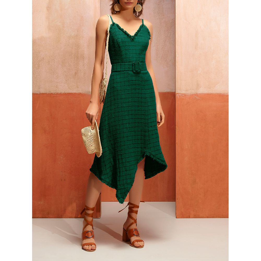 Vestido-Tweed-Exotique---Floresta