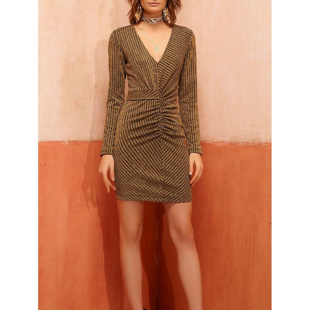 Vestido-Lurex-Golden