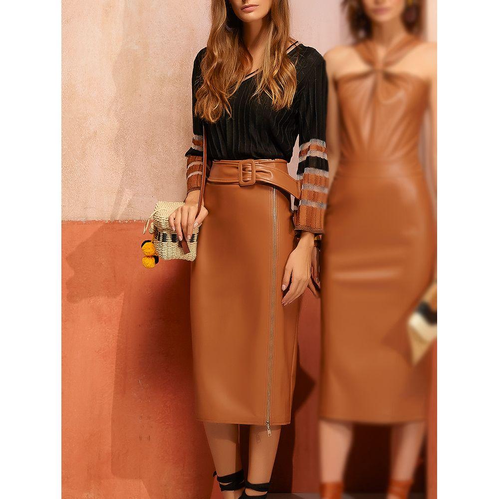 Saia-Midi-Leather-Glam---Camelo