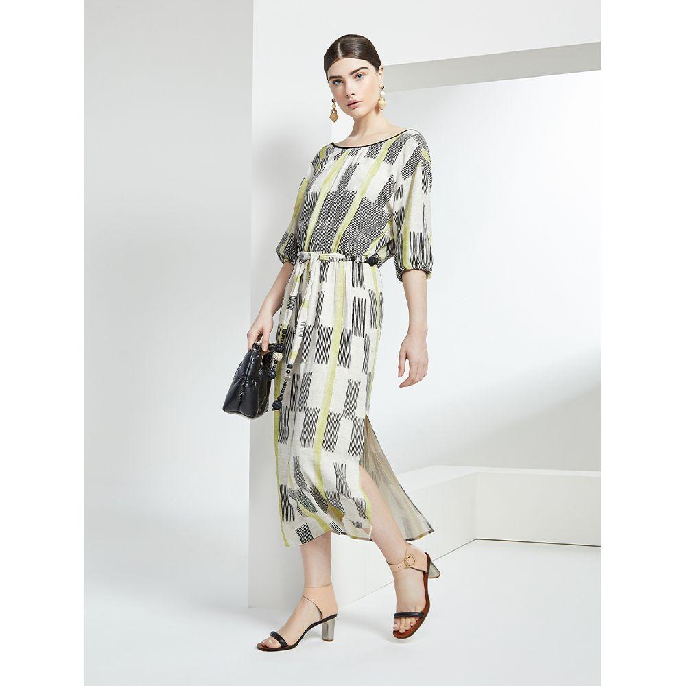 Vestido-Midi-Linho-Print