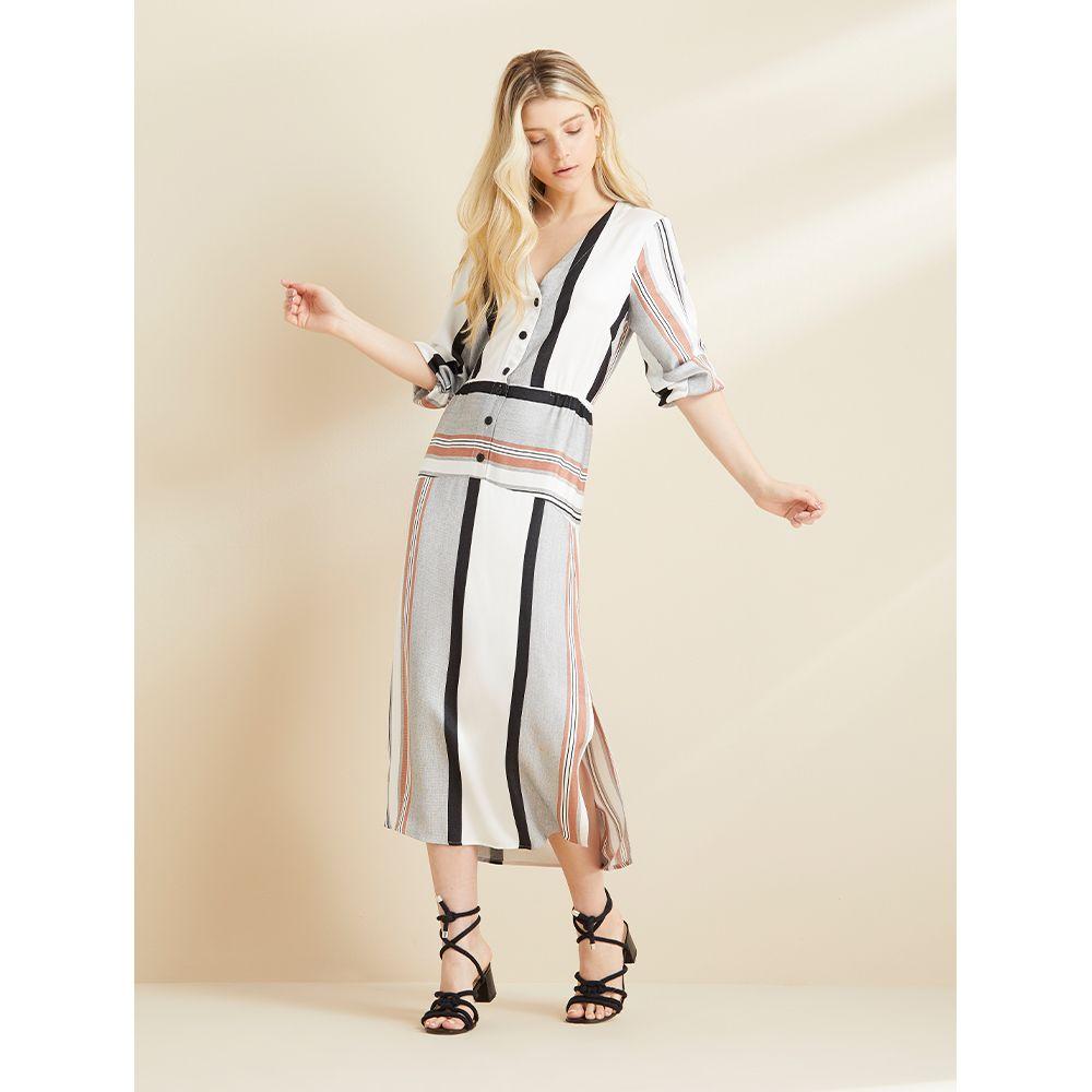 Vestido-Midi-Stripe-Off-White-com-Listras-Terracota