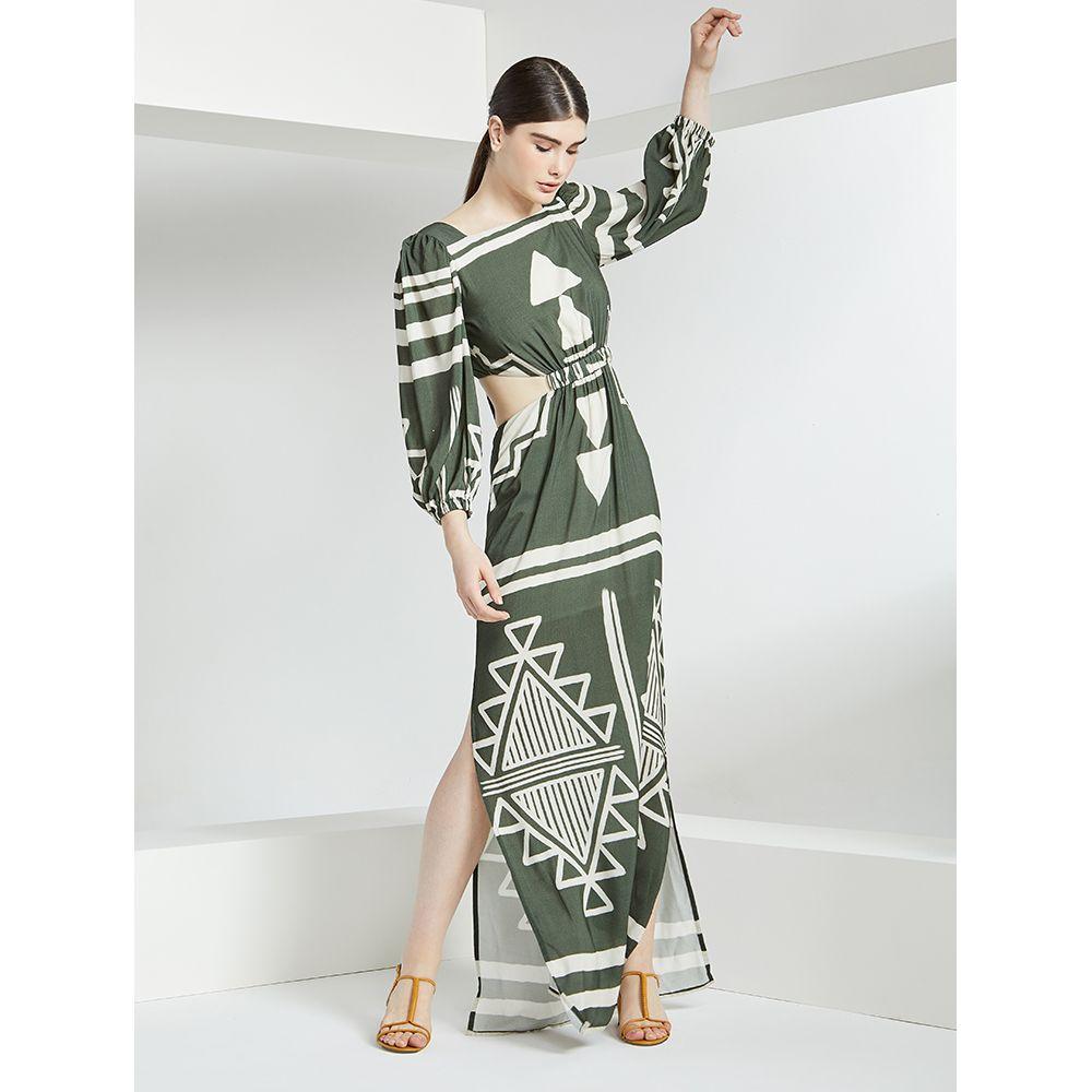 Vestido-Print-Tribal