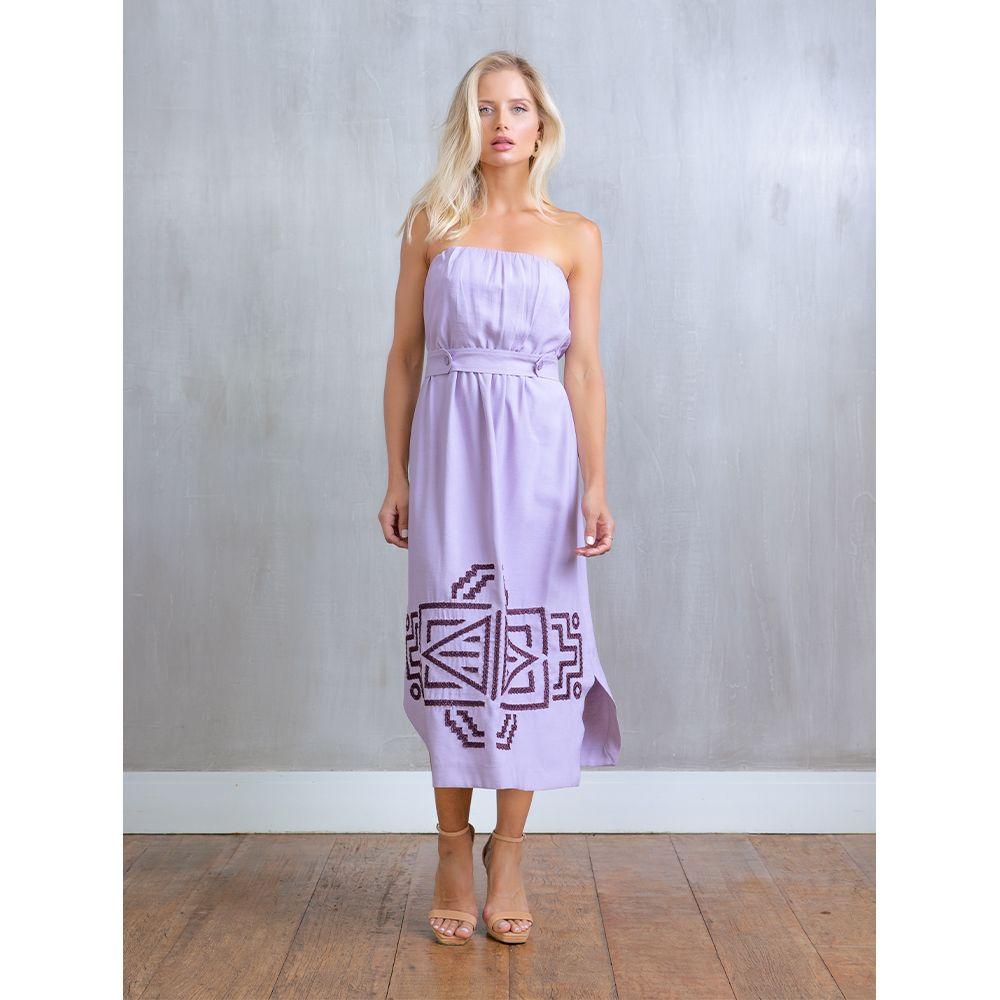 Vestido-Bordado-Print-Tribal-Lavanda