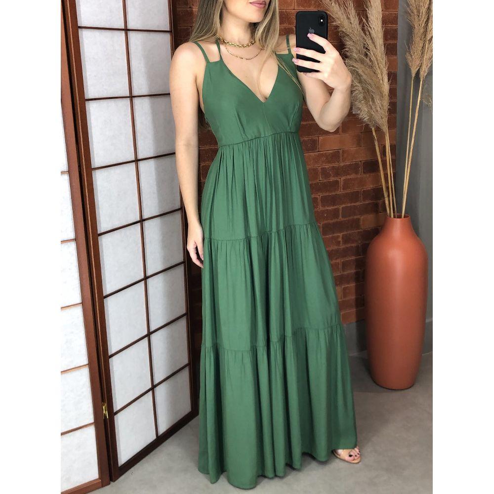 Vestido-Nature-Longo-Verde