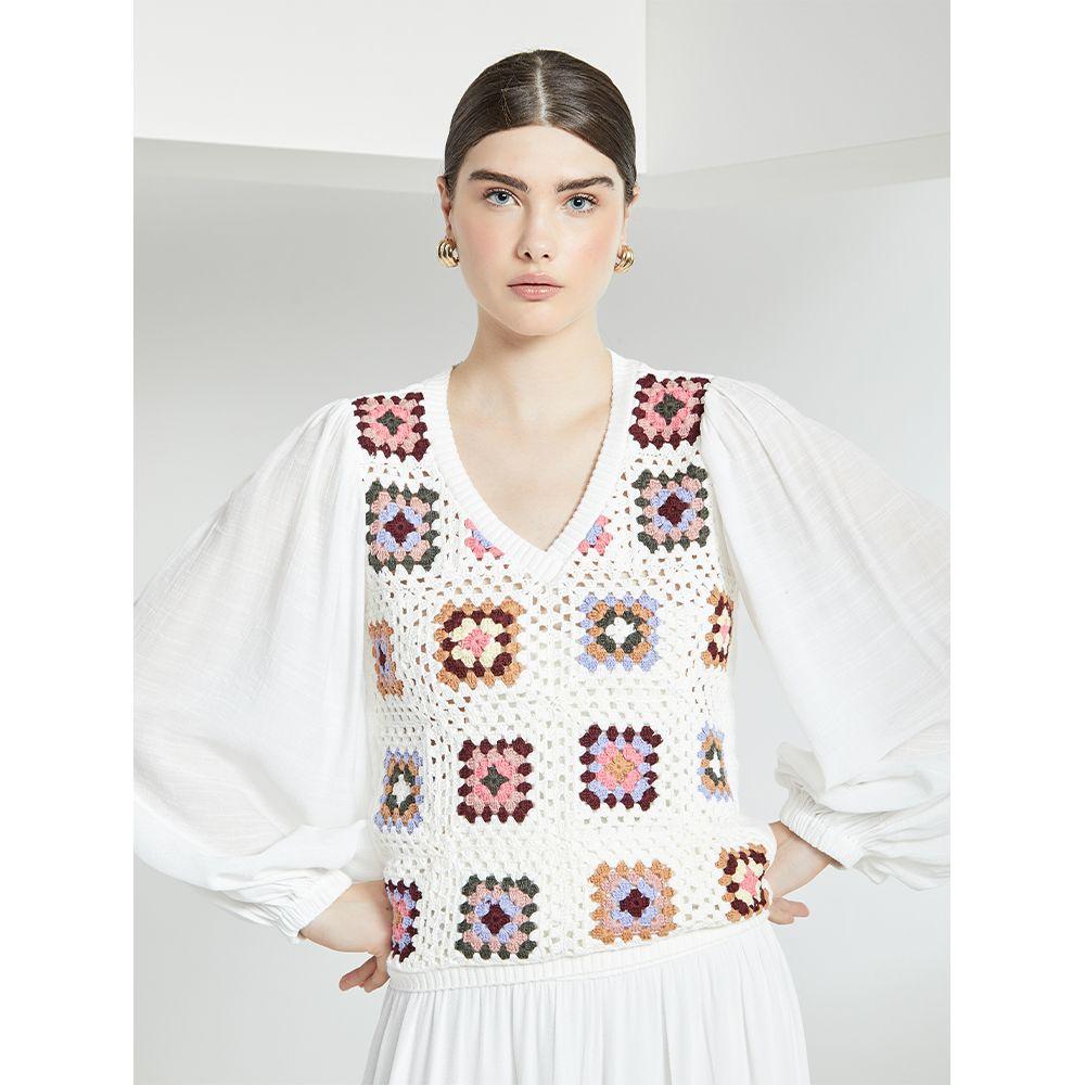 Blusa-Crochet-Luxo-Off-White
