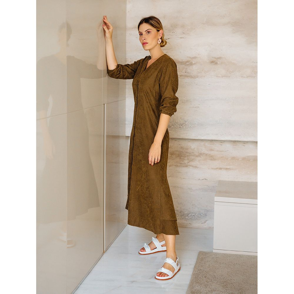 Chemise-Trend-Casual-Olive