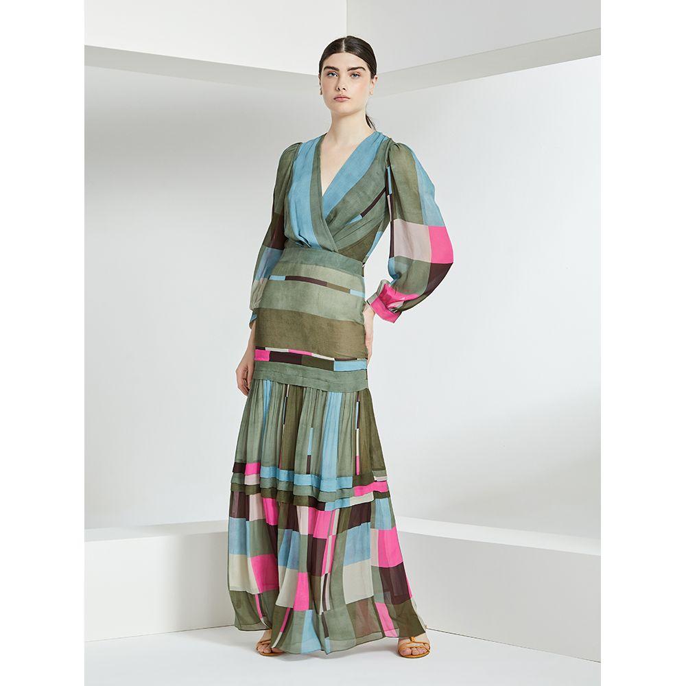 Vestido-Longo-Print-Color-Block