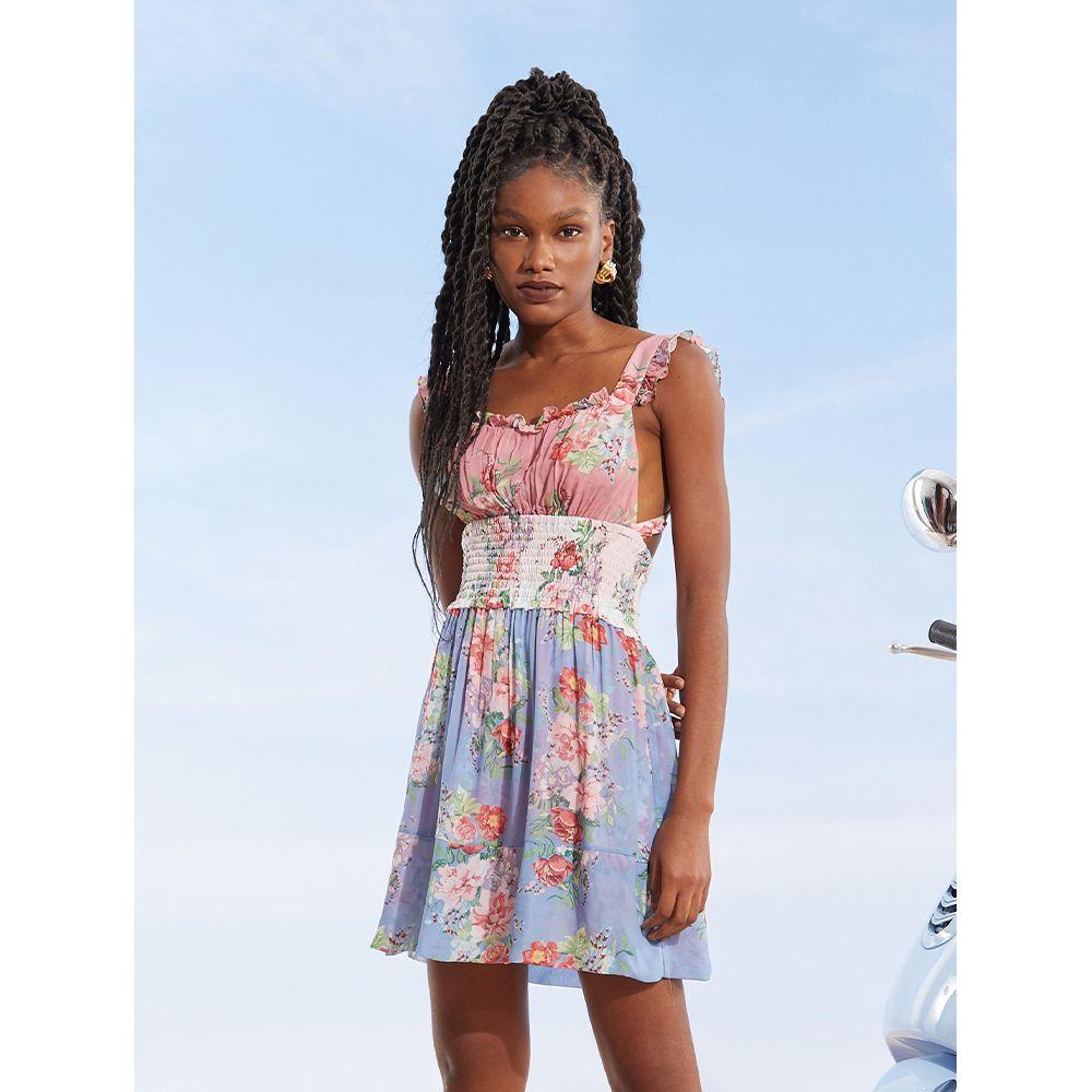 -Vestido-Curto-Print-Bouquet-