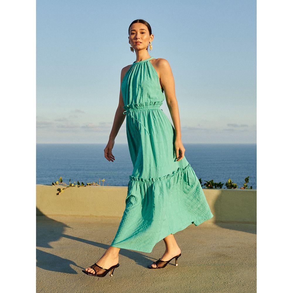 Vestido-Texture-Midi-Verde-Caribe